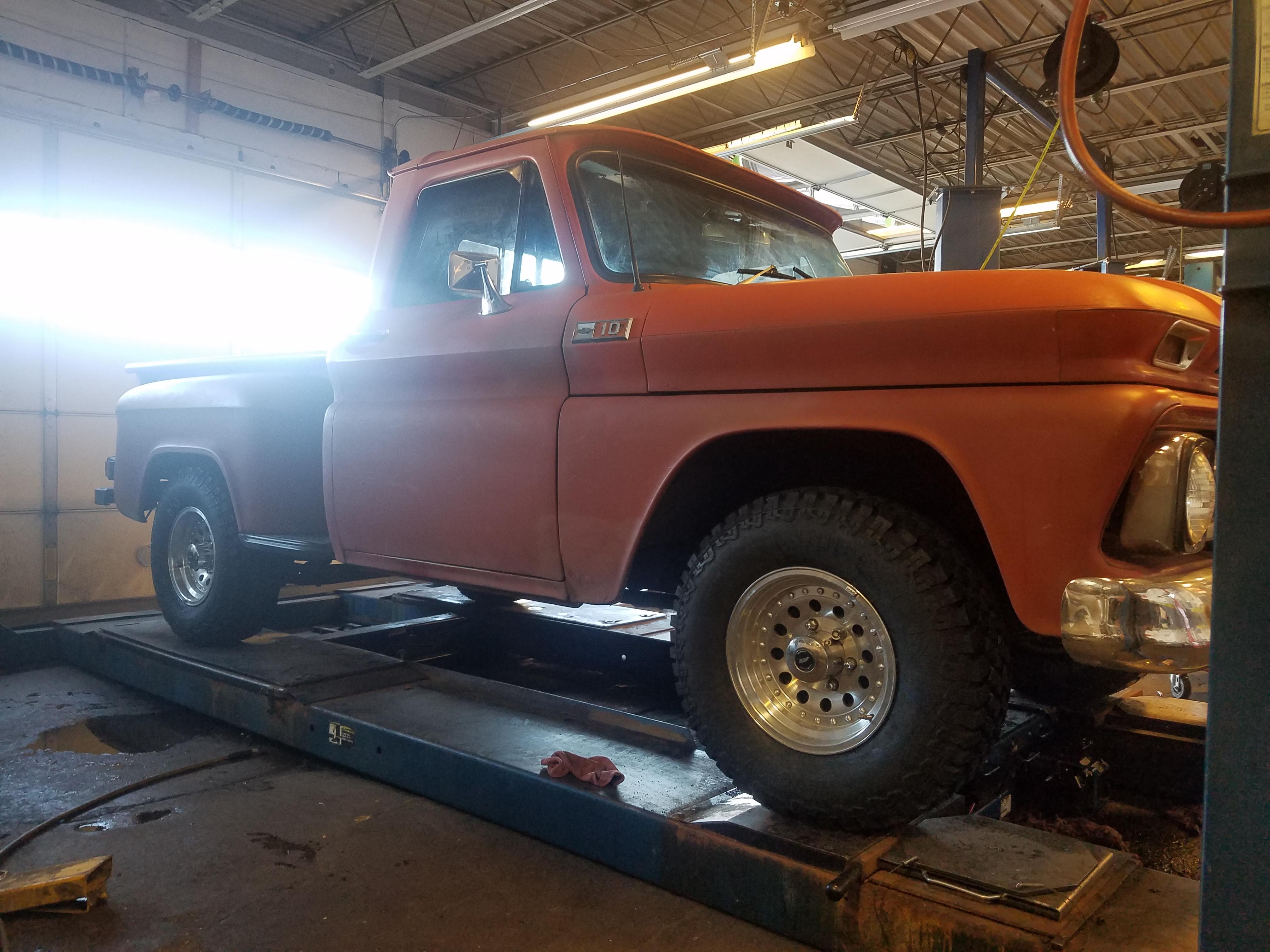 Classic Chevy Pickup