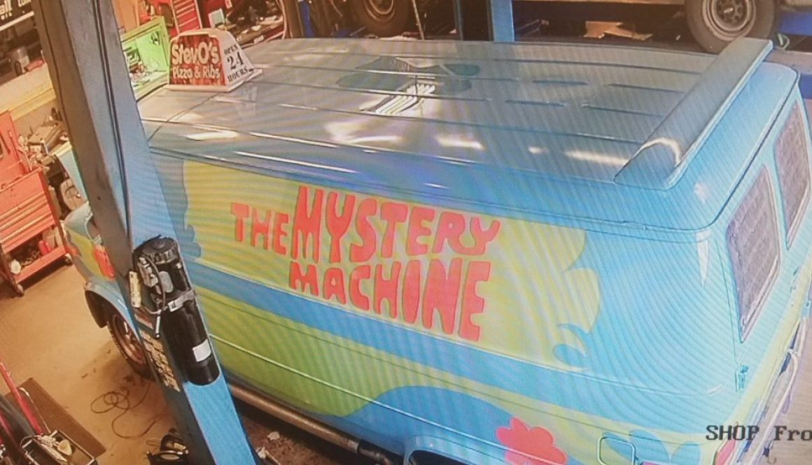Mystery Machine Maintenance