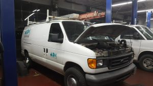 ADK Electric fleet maintenance