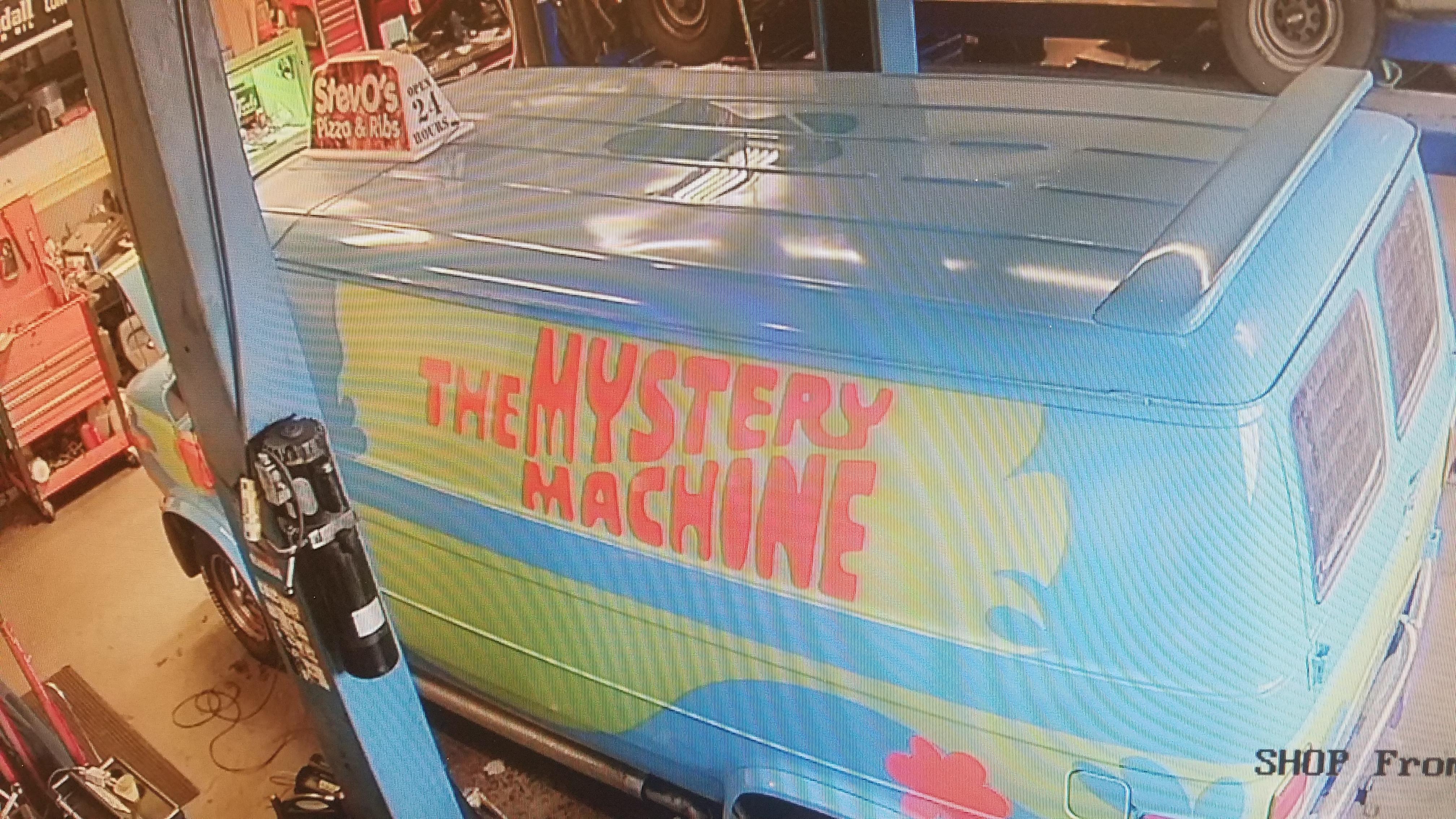 Mystery Machine Maintenance