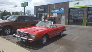 Pretty 'Benz convertible