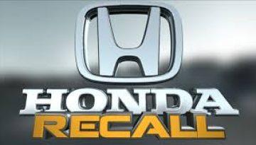 Honda airbag recall is serious